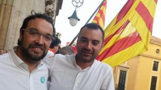 Vés a: Juli Fernàndez i Jordi Ballart, junts a la festa major de Terrassa