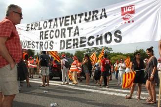 Vés a: PortAventura obre i opera amb normalitat durant la jornada de vaga