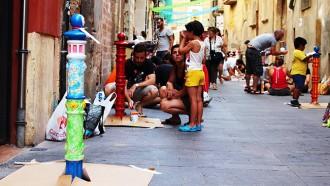 La novena Pilon Parade redibuixa l'estètica del carrer Comte