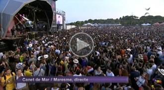 VÍDEO Elèctrica Dharma, Mainat i la Banda Impossible, al Canet Rock