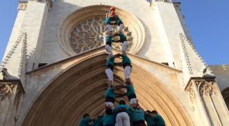 Exhibició dels Verds al Pla de la Seu de Tarragona