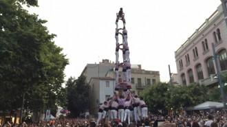 Els Minyons mostren el 3de9f a la vigília de la Festa Major