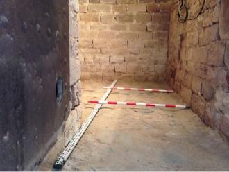 Troben restes romanes a Sant Pere de Vilamajor