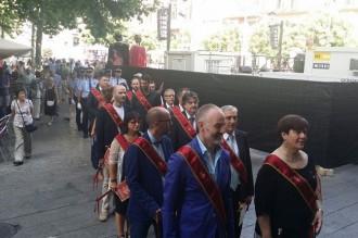 Terrassa en Comú, ERC i la CUP fan «campana» de missa i de seguici