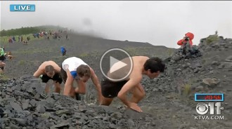 Rècord de Kilian Jornet a la Mount Marathon d'Alaska, una de les curses més antigues