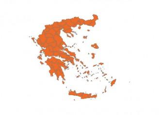 Els resultats del referèndum grec, per demarcacions