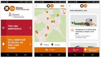 DipSalut activa una aplicació per localitzar els desfibril·ladors de Girona