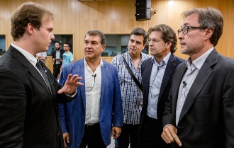 Qatar i el nou Camp Nou centren a Vic el primer debat de candidats del Barça