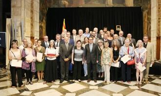 El llinarsenc Jordi Barbany i Triadó rep el Diploma de Mestre Artesà