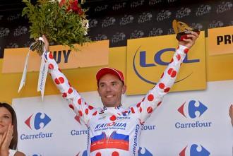 Victòria rotunda del «Purito» a la tercera etapa del Tour