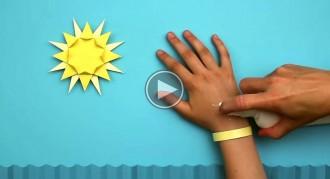 Una polsera intel·ligent avisa quan t'estàs cremant la pell al sol
