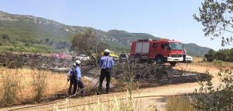 Es declara un segon incendi entre Lilla i Prenafeta en menys d'una setmana