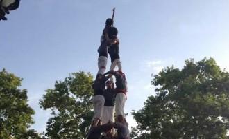 Els Castellers de les Roquetes assoleixen la seva millor actuació