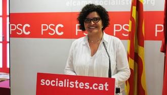 Ibarra es presenta a candidata del PSC per ser «referent dels activistes»