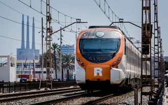 Retards a la R2, R2sud i Rodalies Camp per un atropellament a Gavà