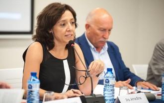 Anna Erra presideix el primer ple de la legislatura del Patronat de la FUB