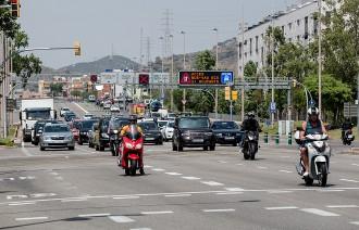 Vés a: La reforma de la Meridiana de Barcelona retallarà carrils de circulació