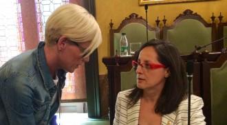 La «declaració d'amor» de la líder de Ciutadans al portaveu d'ERC