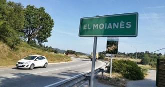 El Moianès ja té indicadors de comarca a les carreteres d'accés