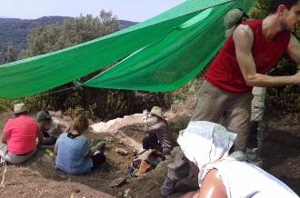 Un equip d'arqueòlegs estudia la vida de la població de Tavertet fa 6.000 anys