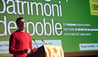Sergi Saladié, escollit cap de llista de la CUP en primàries per Tarragona