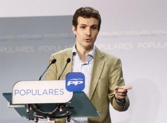 Vés a: El penediment aigualit de Casado per haver comparat Puigdemont amb Lluís Companys