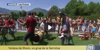Tots els vídeos dels «Matins»  de TV3 a la piscina de Les Preses