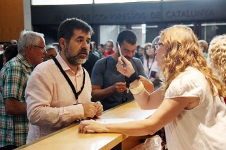 Jordi Sànchez convida Lluís Rabell a participar de la Diada