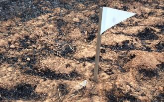 Vés a: La «zona zero» de l'incendi d'Òdena, la bifurcació del foc des del principi