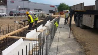 Comencen les obres d'una passarel·la per a vianants sobre la C-35 a Palau