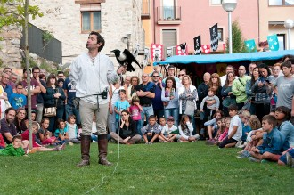 FOTOS El Mercat del Comte Arnau omple Sant Joan de les Abadesses