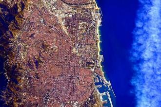 Vés a: Barcelona, com mai l'havies vist, des de l'Estació Espacial Internacional