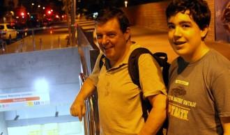 Vés a: Un maquinista d'AVE i el seu fill, primers usuaris del metro de Terrassa