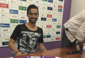 Vés a: Nuno Silva, jugador del Jaén, llueix una imatge de Franco a la samarreta