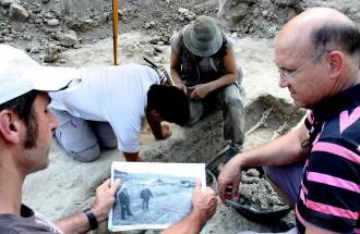 Exhumen a Torelló l'esquelet d'un soldat afusellat a la Guerra Civil