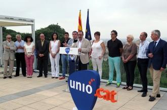 Unió presenta la seva candidatura per Girona amb Xavier Dilmé al capdavant