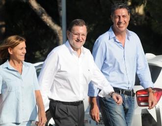Vés a: Mariano Rajoy: «El PP català es pren seriosament el 27-S, i jo també»