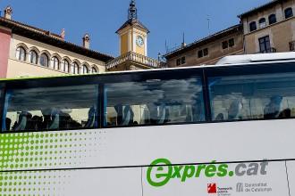 El nou bus exprés.cat Vic-Barcelona es posa en marxa aquest dilluns