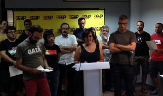 Sergi Saladié, escollit cap de llista de la CUP en primàries