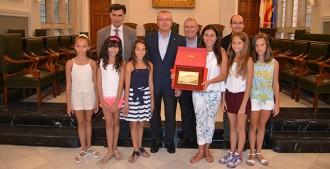Reus rep les cinc gimnastes que van participar en el Campionat Nacional