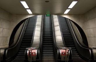 La por a les escales mecàniques s'escampa