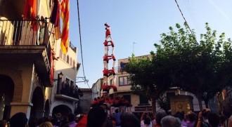Vilallonga rep la Vella i la Jove acostumada als castells de 9