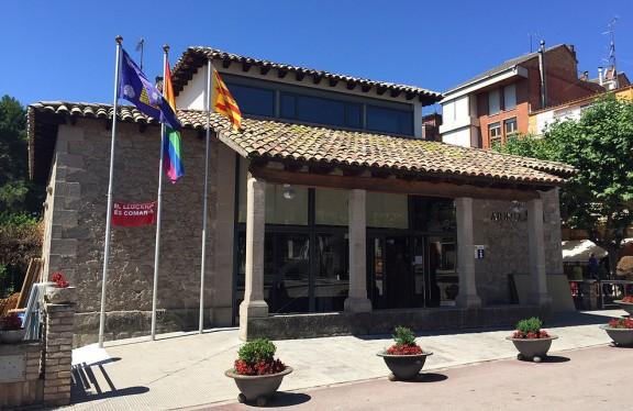 Vuit municipis osonencs pengen la bandera multicolor de l'orgull gai