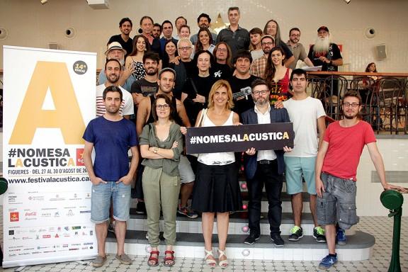 L'Acústica 2015 converteix Figueres en la capital musical del cap de setmana