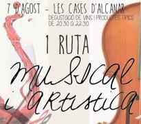 Este divendres al vespre, I Ruta Musical i Artística a les Cases d'Alcanar