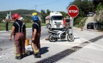 Mor un motorista en un xoc amb un tràiler en una de les sortides de Girona