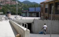 El nou tram del carrer Núria es converteix en accés al pàrquing de Mercadona