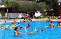 Les piscines de Móra d'Ebre emularan el riu Ebre
