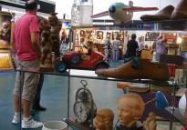 La Fira d'Antiguitats de Vic creix en vendes, però cau en visitants