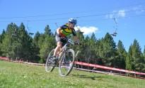 Neus Parcerisas, subcampiona del món de mountain bike màster 35